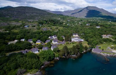Berehaven Lodge Ariel